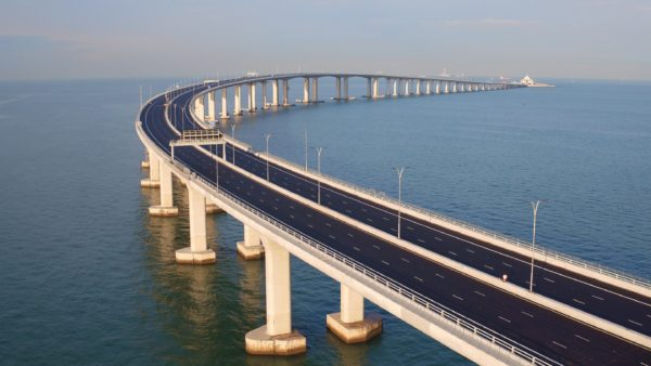 The Hong Kong-Zhuhai-Macao Bridge links Hong Kong to cities throughout the Greater Bay Area of southern China