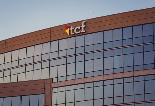 Corporate building of TCF Bank