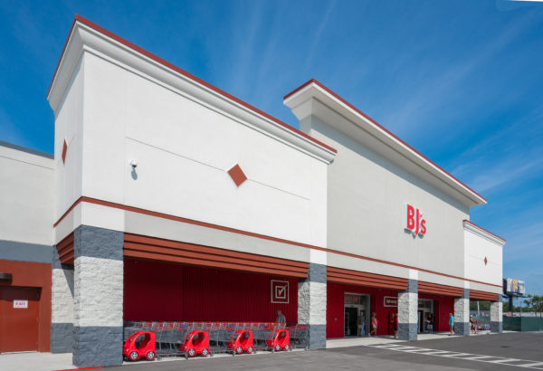 Exterior of BJ's Clearwater club in Florida