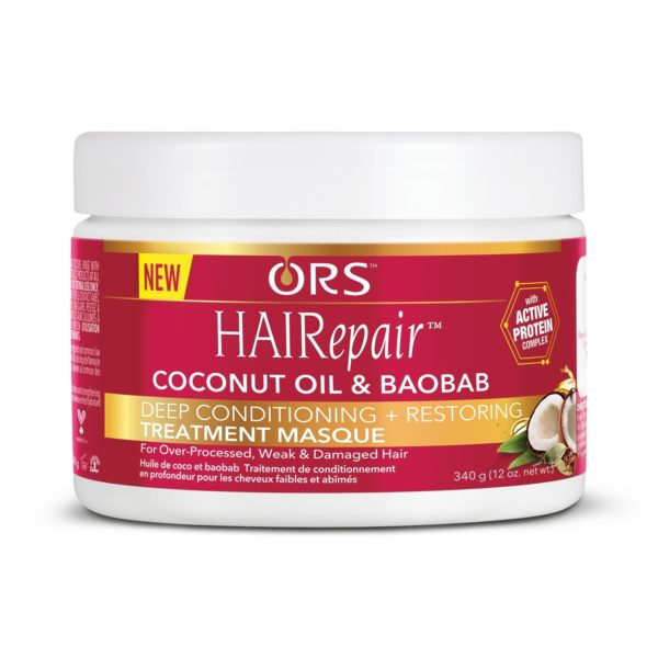ORS HAIRepair Deep Conditioning + Restoring Treatment Masque 12oz (Photo: Business Wire)