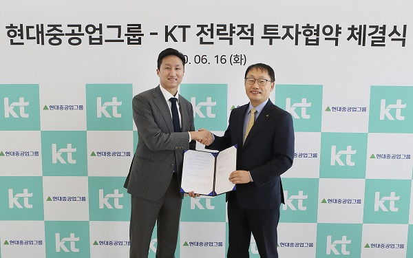KT to acquire 10% stake in Hyundai Robotics from Hyundai Heavy Industries