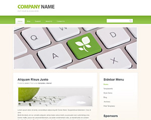 Business website templates
