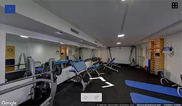 Ins Fitness Center mit Virtual Reality