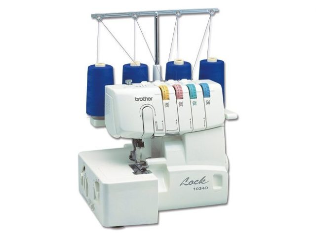 Brother 1034D 3/4 Thread Serger with Differential Feed - Embroidery Machine