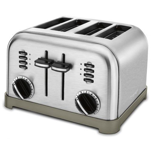 Cuisinart CPT-180 Metal Classic 4-Slice Toaster, Brushed Stainless - Slice Toaster