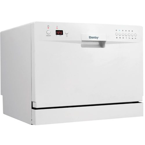 Danby DDW611WLED Countertop Dishwasher – White - Countertop Dishwasher