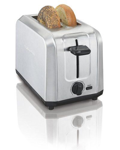 Hamilton Beach Brushed Stainless Steel 2-Slice Toaster (22910) - Slice Toaster