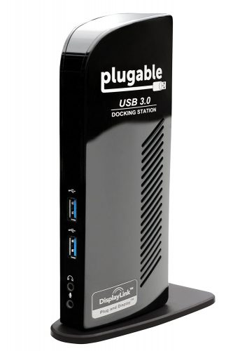 Plugable USB 3.0 Universal Laptop Docking Station - USB Hub