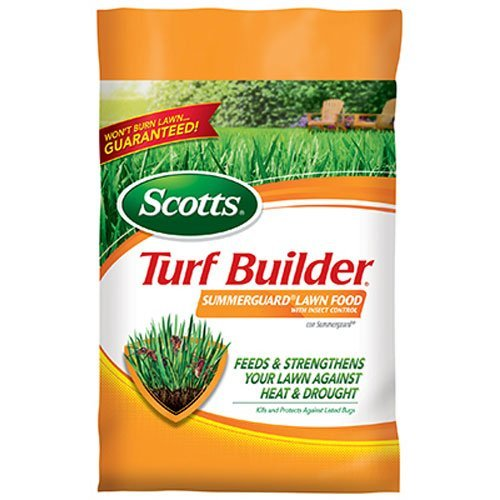 Scotts Turf Builder Lawn Food - Summerguard with Insect Control, 5,000-sq ft. (13.35lb.) (Lawn Fertilizer plus Insect Control)