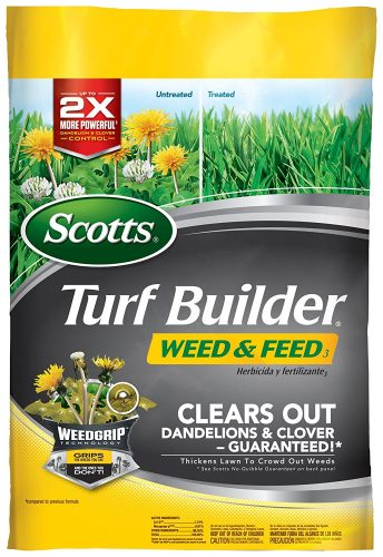 Scotts Turf Builder Weed and Feed Fertilizer 5M (Not Sold in Pinellas County, FL)