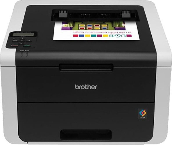 The Brother HL-3170CDW Digital Color Printer with Wireless Networking and Duplex, Amazon Dash Replenishment Enabled - best color laser printers
