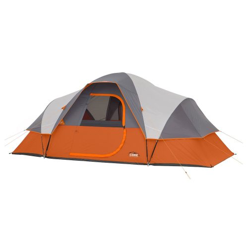 CORE 9 Person Extended Dome Tent - 16' x 9' - best family tents