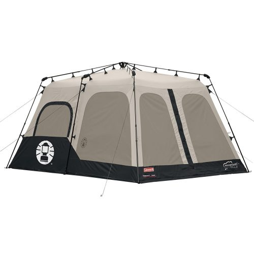 Coleman 2000018295 8-Person Instant Tent, Black (14x10 Feet) - best family tents