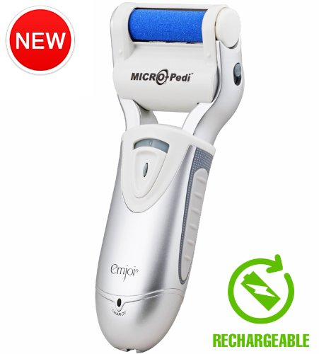 Emjoi Micro-Pedi PRO - Callus Remover (Most Powerful & Rechargeable)  - Foot Callus Removers