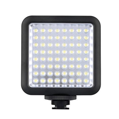 Godox LED 64 Continuous On Camera LED Panel light - On-Camera LED Lights