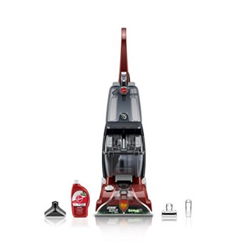 Hoover FH50150 Carpet Basics Power Scrub Deluxe Carpet Cleaner - Cordless Steam Mops