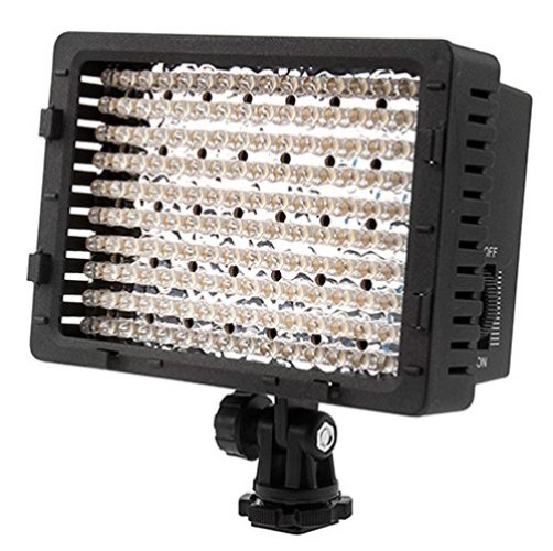 NEEWER 160 LED CN-160 Dimmable Ultra High Power Panel Digital Camera / Camcorder - On-Camera LED Lights