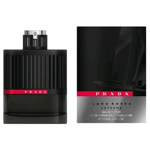 Prada Luna Rossa Extreme Eau De Parfum Spray for Men, 3.4 Fluid Ounce - long lasting colognes