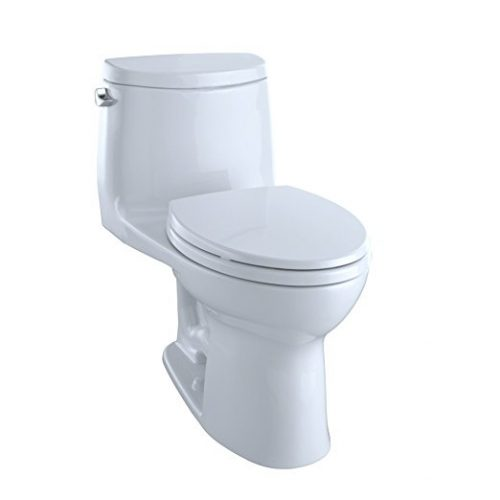 TOTO MS604114CEFG#01 Ultramax II Het Double Cyclone Elongated One-Piece Toilet - one piece toilets