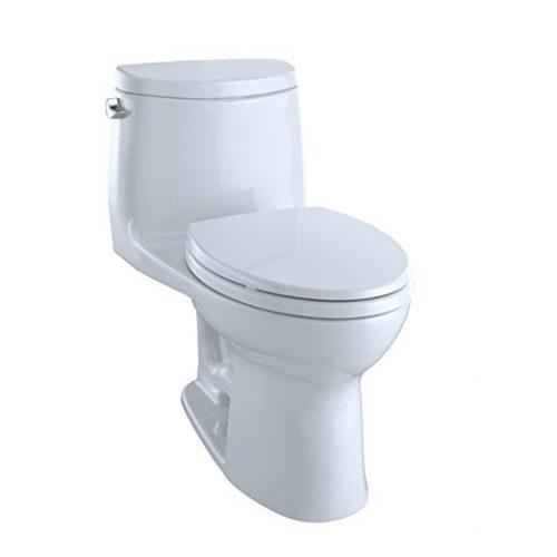 TOTO MS604114CEFG#01 Ultramax II Het Double Cyclone Elongated One-Piece Toilet - one piece toilets