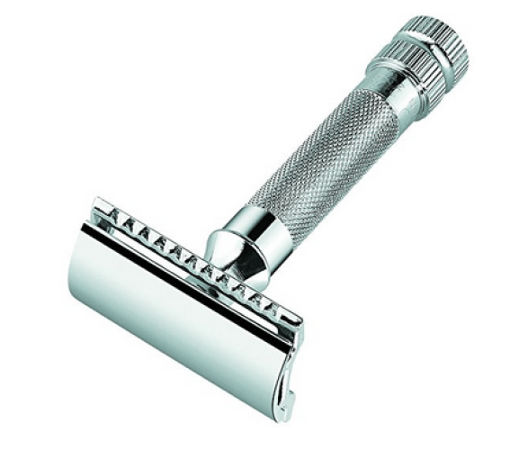 Merkur Heavy Duty Double Edge Razor (Blade Included) - Double Edge Safety Razors
