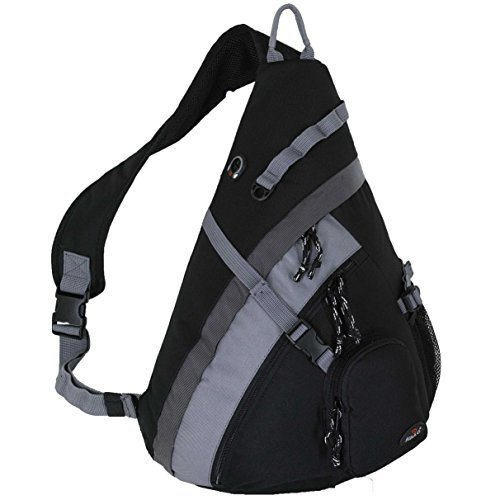 "HBAG 20"" Sling Backpack Single Strap School Travel Sports Shoulder Bag - Single Strap Backpack"
