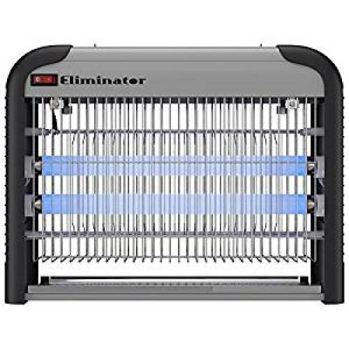 Eliminator Electronic Fly and Bug Zapper – 20 Watts, Protects 5,000 Sq. Ft. / Exterminates All Insect Pests - For Residential, Industrial and Commercial Use - Bug Zappers