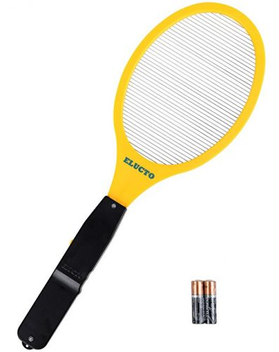 Elucto Electric Bug Zapper Fly Swatter Zap Mosquito Best for indoor and Outdoor Pest Control (AA Batteries Included) - Bug Zappers