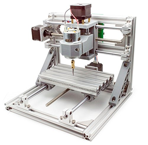 LinkSprite DIY CNC 3 Axis Engraver Machine PCB Milling Wood Carving Router Kit - laser engraving machine