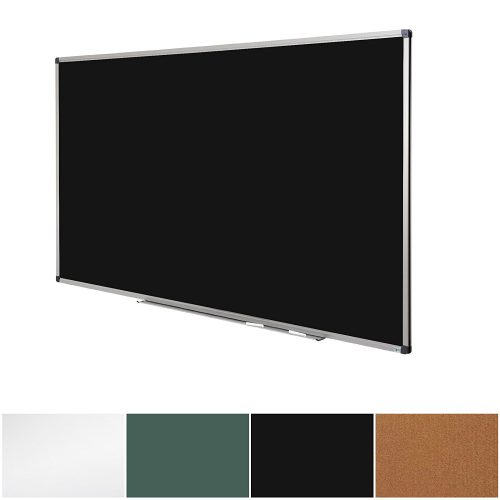 Black Magnetic Chalk Board | Aluminium Framed