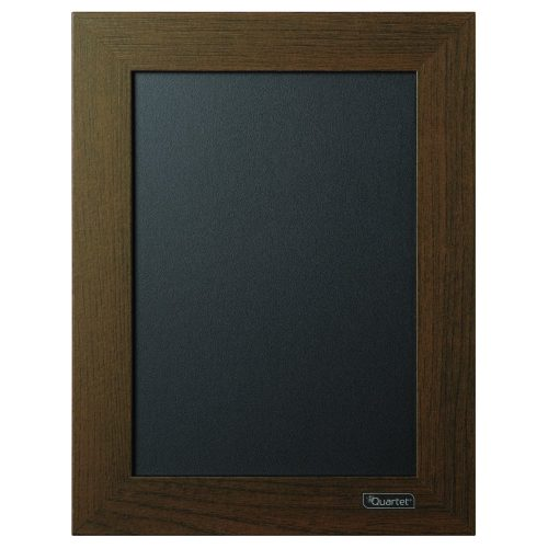 Quartet Chalkboard / Chalk Board, 8-1/2″ x 11″, Wood Finish Frame-Chalkboards