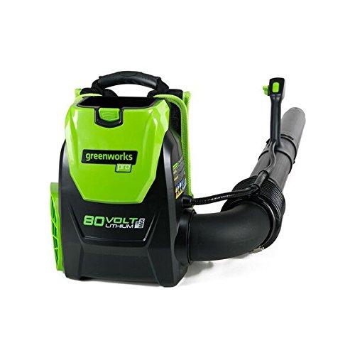 Greenworks PRO 80V 145 MPH - 580 CFM Cordless Backpack Blower, Battery Not Included BPB80L00