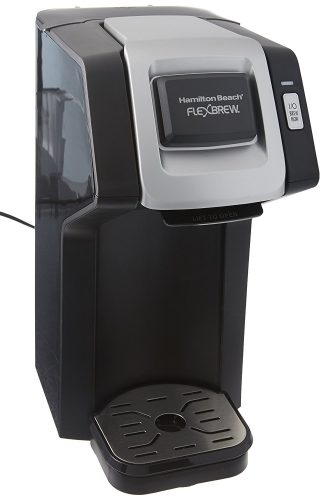 Hamilton Beach FlexBrew Single-Serve Coffee Maker for K-Cups and Ground Coffee (49974)