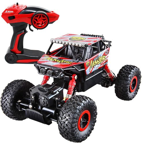 Joyin Toy RC Remote Control Racing Truck [with LED Head Light] with Battery