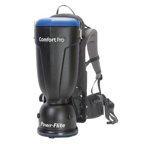 Powr-Flite BP6S Comfort Pro Premium Backpack Vacuum, 6-Quart Capacity