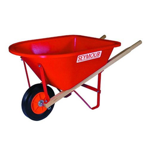 Seymour WB-JR Poly Tray Lightweight Children's Size Wheelbarrow