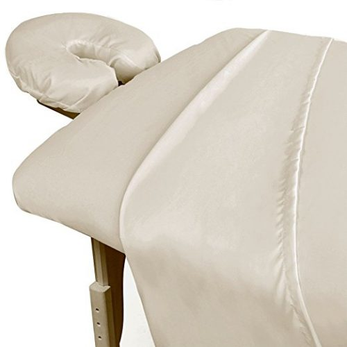 ForPro Premium Microfiber 3-Piece Sheet Set Natural
