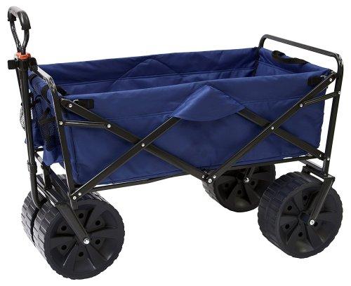 Mac Sports Heavy Duty Collapsible Folding [All Terrain Utility] Beach Wagon