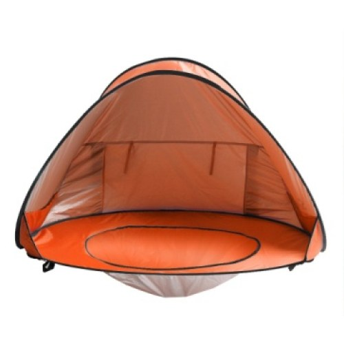 Sunba Youth Baby Beach Tent Pop Up Portable Shade Pool Tent UV Protection Sun Shelter for Infant (orange)