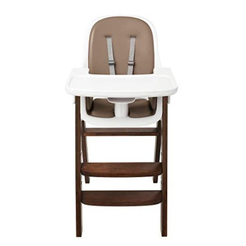 OXO Tot Sprout High Chair, Taupe/Walnut