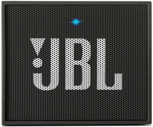 JBL GO Portable Wireless Bluetooth Speaker W/A Built-In Strap-Hook (black) - Bluetooth Speakers Under 50