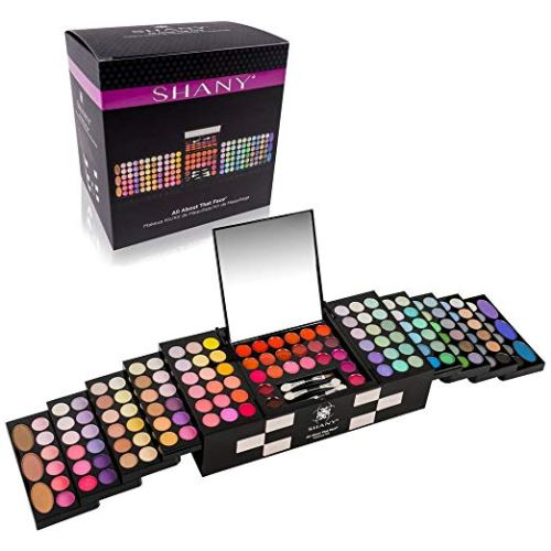 SHANY 'All About That Face' Makeup Kit - All in one Makeup Kit - Eye Shadows, Lip Colors & More