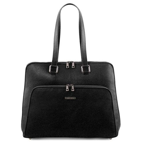 Tuscany Leather - Lucca - TL SMART business bag in soft leather for women - Women's business leather bags
