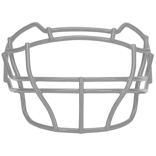 Carbon Steel Football Faceguard, Gray- Schutt Sports
