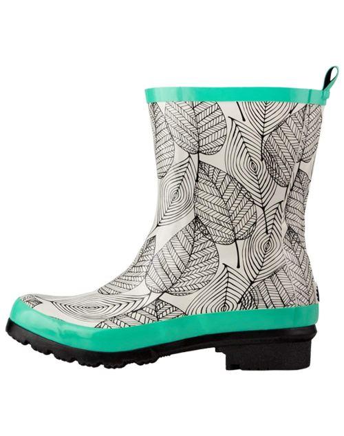 Oakiwear OAKI Women's Noxon Rubber Rain Boots, | Ankle Boot Wellies - Gardening boots