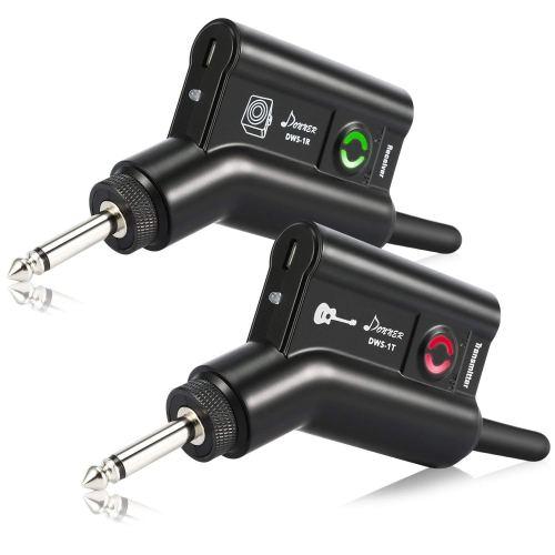 Donner Rechargeable Wireless Guitar System DWS-1 Digital Guitar Bass Audio Transmitter Receiver