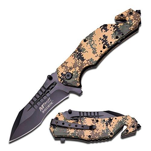 MTech USA Ballistic MT-A845 Series Spring Assist Folding Knife