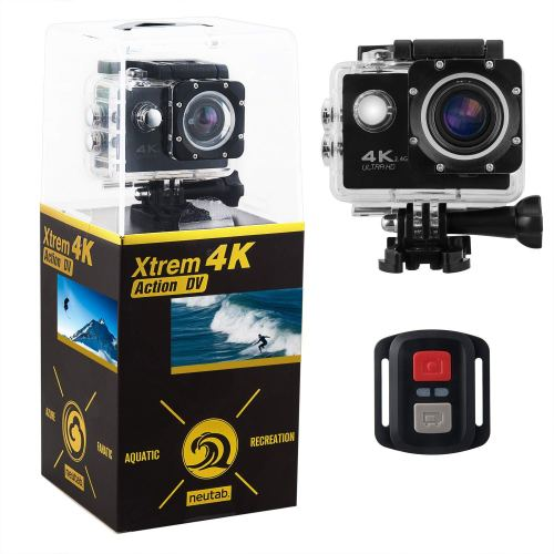 NeuTabXtrem 16 MP Sony Image Sensor 4K Action Camera