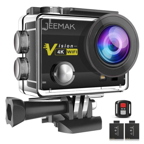 JEEMAK 4K 16MP WiFi Action Camera