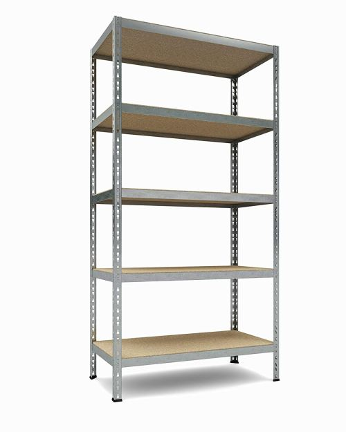 TKT Heavy Duty 5-Shelf Shelving Unit